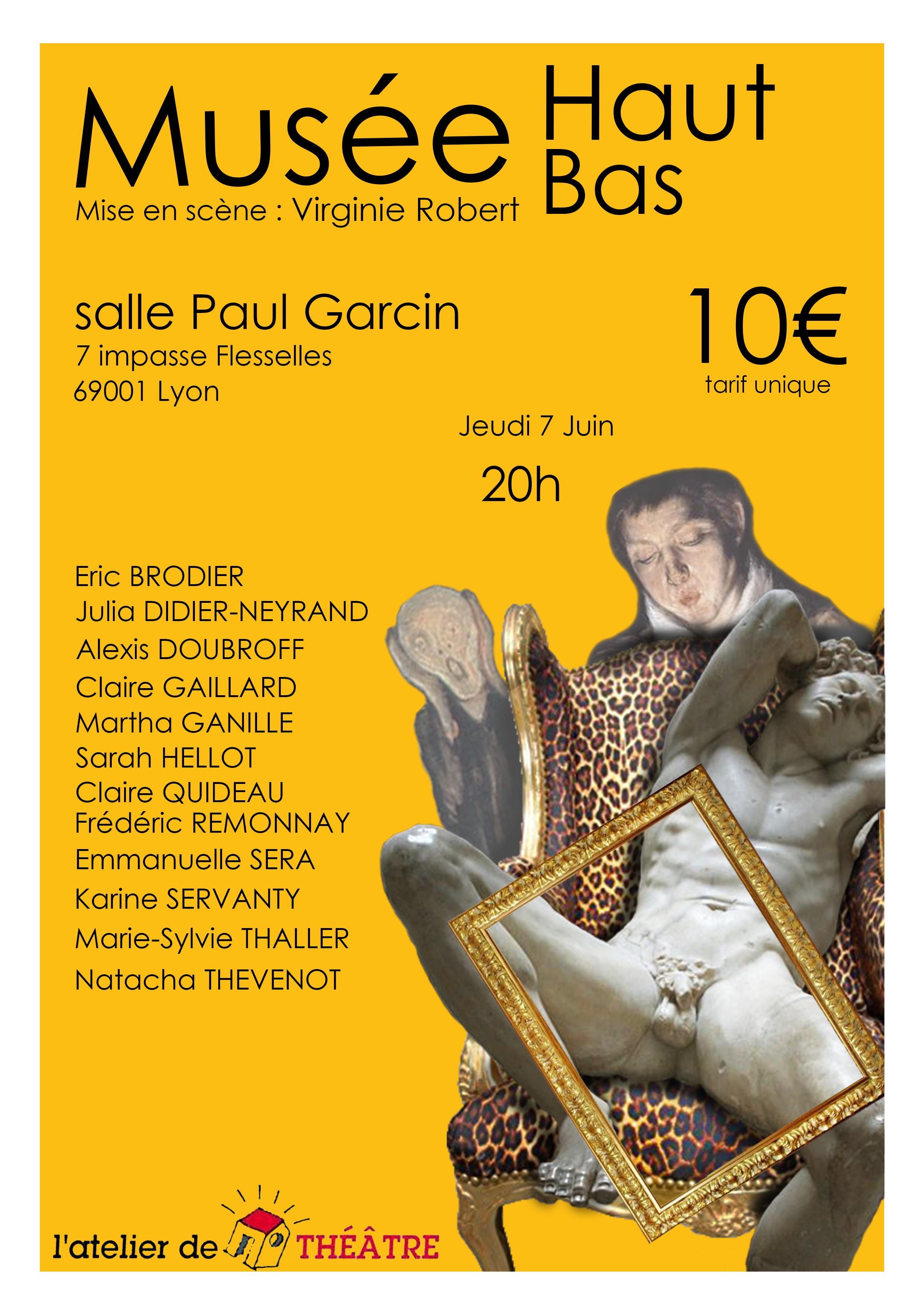 Musée Haut Musée Bas affiche
