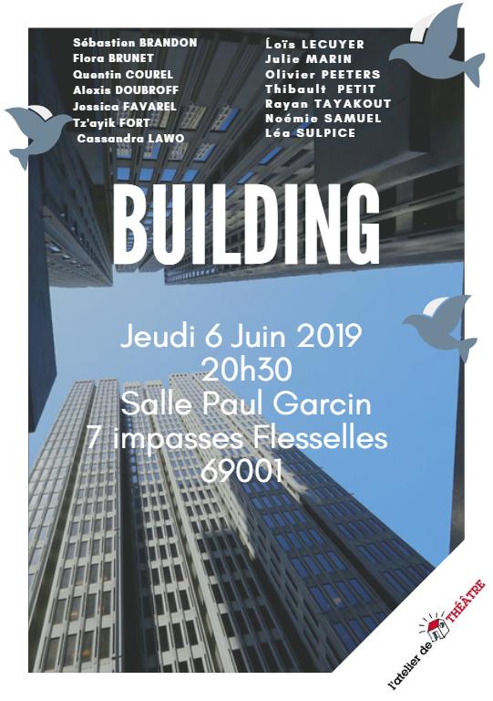 Affiche Building 2019 avec bandeau